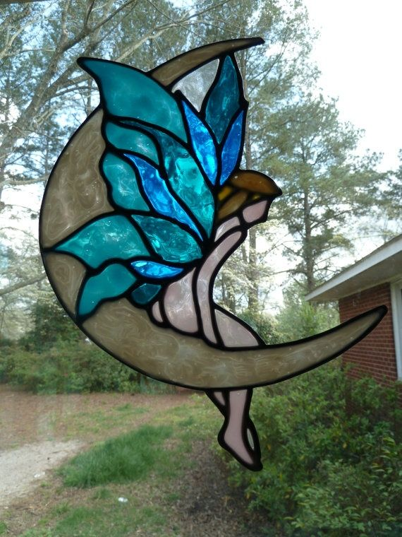 67 Best Stained Glass Fairies Images On Pinterest