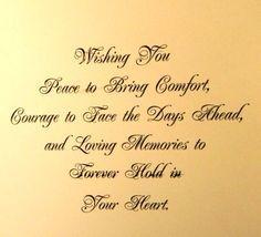 sympathy verse......                                                                                                                                                      More