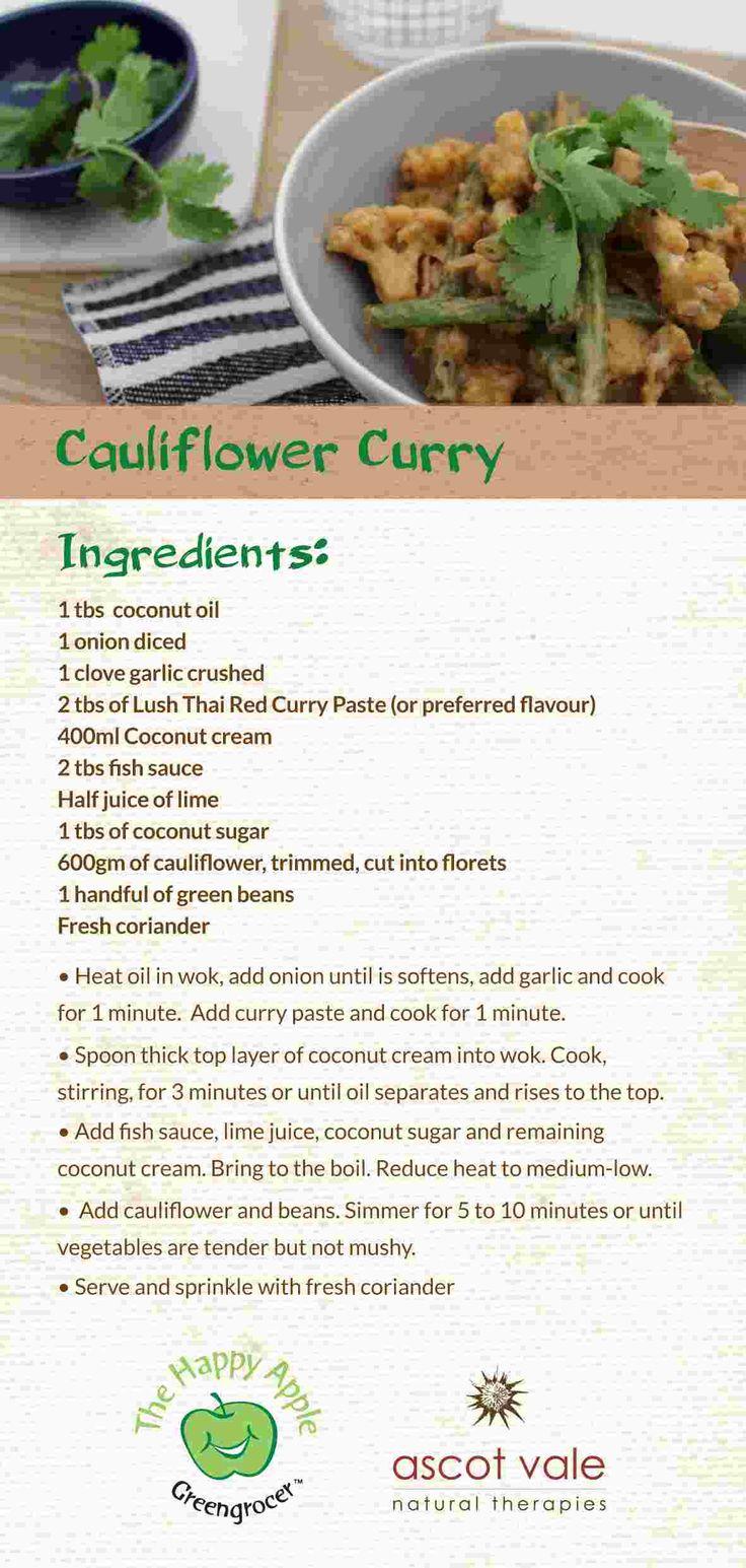Cauliflower Curry!