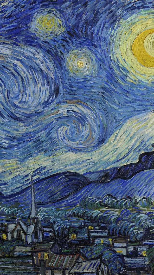 Van Gogh 🎨 Fonds d'écran pour cellulaire d'artistes peintres 14 📱 #clubboxingday #boxingday # ...