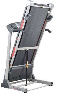 Exercise any time with a foldable treadmill at home.