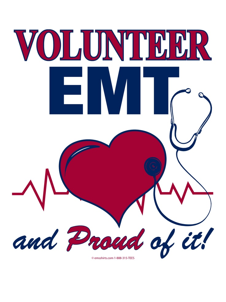 ..I'm a brand new EMT volunteer. I've got a whole bunch of classes to take but I'm still super excited!!
