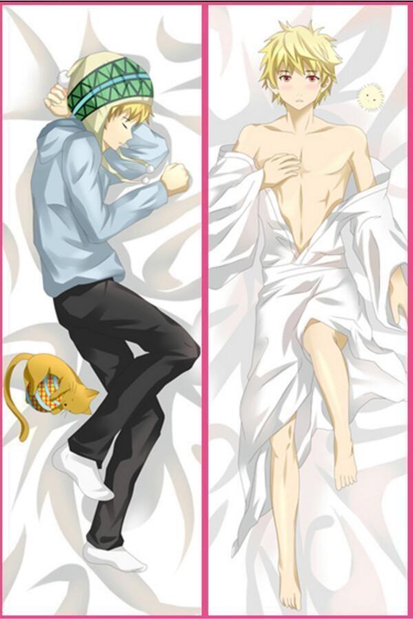 Anime Dakimakura DuRaRaRa! Orihara Izaya Hugging Body Pillow case 50*150CM D