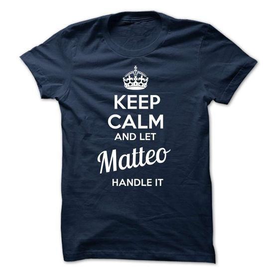 MATTEO - keep calm - #couple shirt #tee itse. THE BEST => https://www.sunfrog.com/Valentines/-MATTEO--keep-calm.html?60505