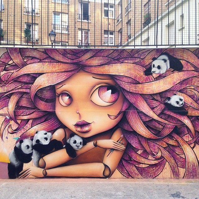 Eye catching Graffiti and Street Art by Vinie Graffiti | CLICKKER NEWS | Vinie Graffiti a French street artist, creates amazing graffiti. Have a look at her portfolio and you will fall in love with it.