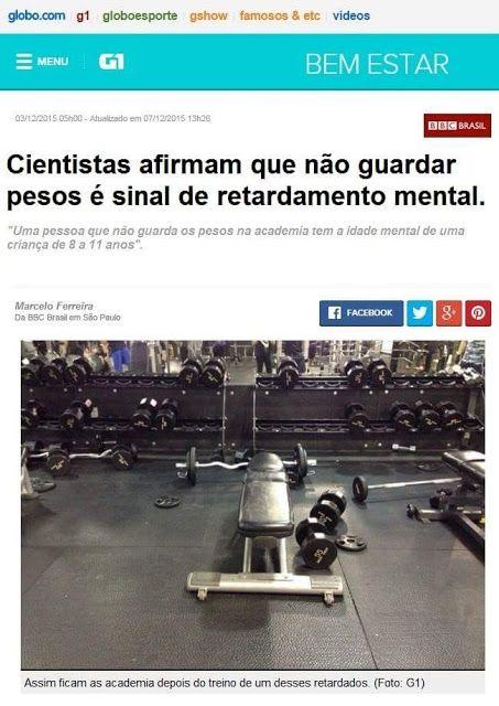 NEO HARDCORE ACADEMIA: CIENTISTAS AFIRMAM QUE NÃO GUARDA ...