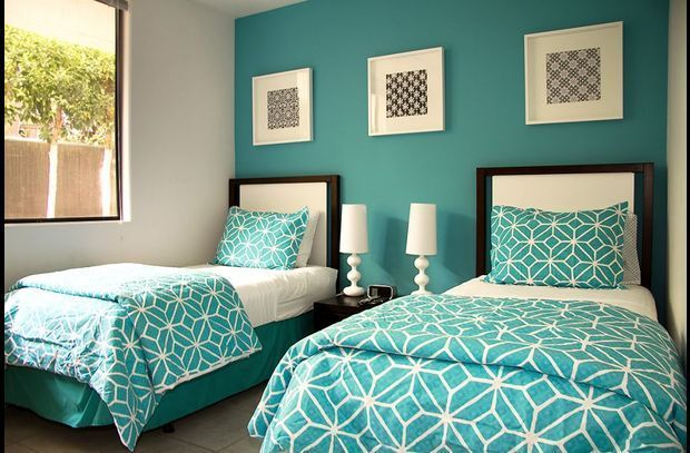 If You Crave Color Go All In With A Bright Blue Paint