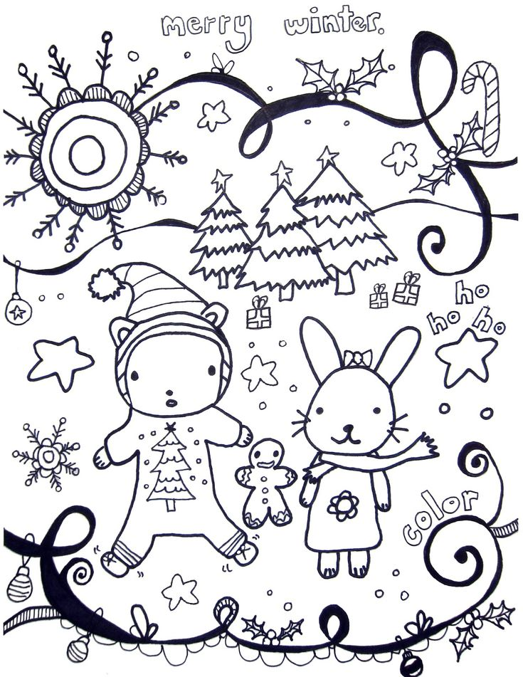 2458 best cute coloring images on Pinterest Coloring books