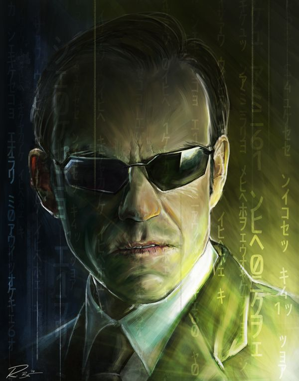 """I hate this place. This zoo. This prison.  This reality, whatever you want to call it, I can't stand it any longer.  It's the smell, if there is such a thing.  I feel saturated by it.  I can taste your stink and every time I do, I fear that I've somehow been infected by it."" - Agent Smith"