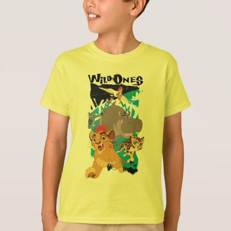 Lion Guard | Wild Ones T-Shirt - tap, personalize, buy right now!
