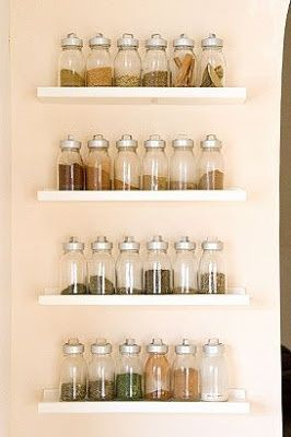 10 Practical Spice Storage Ideas for Small Kitchens | Small Room Ideas