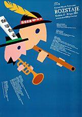 Polski plakat muzyczny