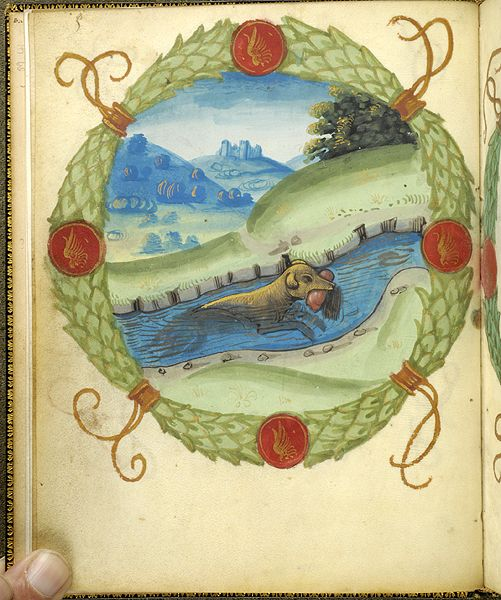 Fables and other poems, MS M.422 fol. 3v - Images from Medieval and Renaissance Manuscripts - The Morgan Library & Museum