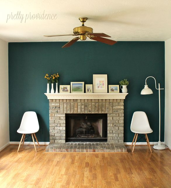 Cinnabar Benjamin Moore Accent Wall: 17 Best Images About Blue Walls On Pinterest