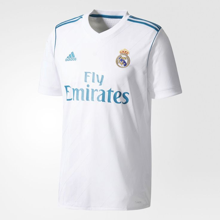 Real Madrid soccer jerseys are the must-have item for every Merengues fan. Wear what Ronaldo and other players are wearing on the field. The Jersey is the Most ICONIC fan apparel item. Get your RM 2017/18 Home Jersey today at WorldSoccerShop.com