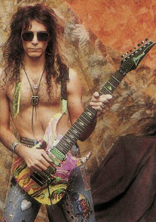 Steve Vai - is an American guitarist, songwriter and producer of Italian origin who has sold over 15 million albums. AWESOME !!!