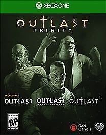 Outlast Trinity (Microsoft Xbox One 2017) Video Game Brand New Factory Sealed