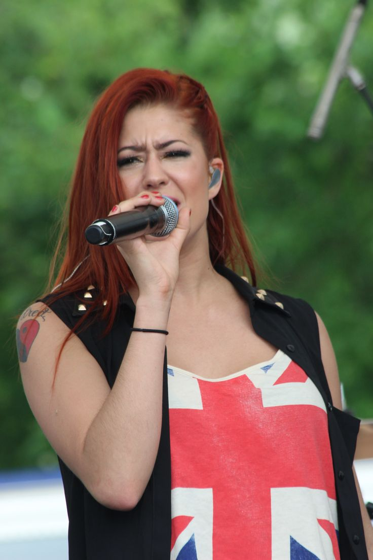 Cher Lloyd during KFest 2013 at Dutchess Stadium, located in Wappingers Falls, NY.