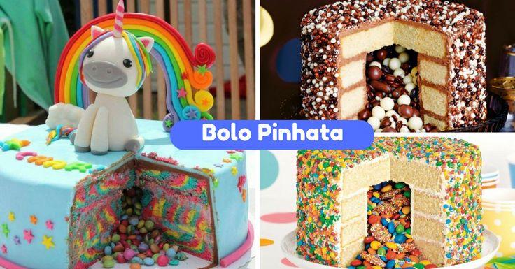 A Pinhata é muito tradicional nas festas de aniversários infantis. São figuras em papel cheias de doces que as crianças têm de rebentar. São um dos diverti