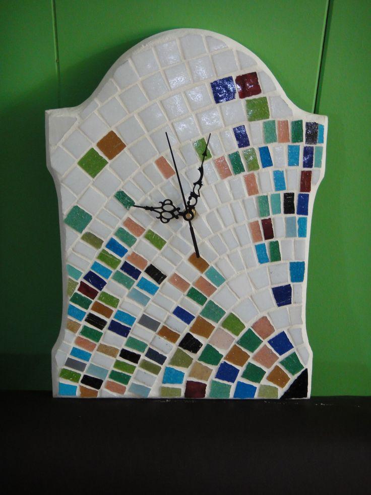 Reloj de pared en venecitas