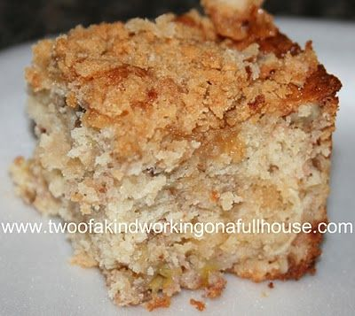 Banana Crumb Cake Recipe | Two of a kind, working on a full house