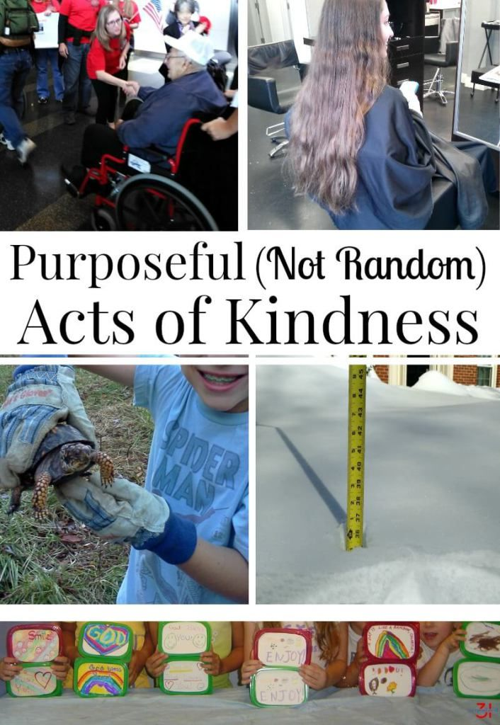 Purposeful (Not Random) Acts of Kindness Ideas
