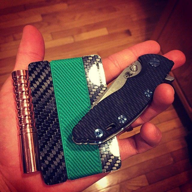 Carbon fiber wallet, elephantwallet