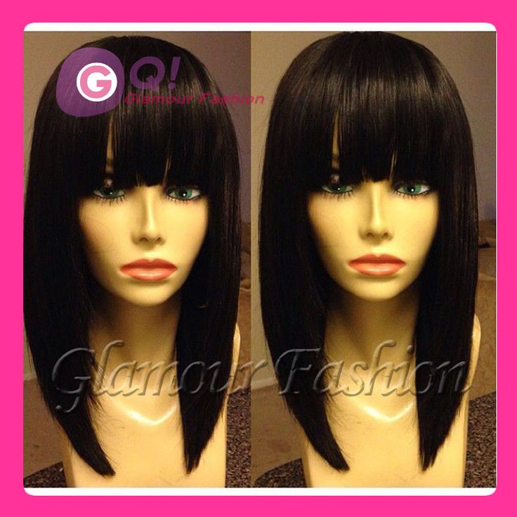 Find More Wigs Information about GQ New Arrival Style! Bob Glueless Full Lace Wig Brazilian Virgin Human Hair Bob Wigs lace front wig with bangs silky straight,High Quality wig long,China wig natural Suppliers, Cheap wig wavy from Glamour Fashion Hair CO.,LTD on Aliexpress.com