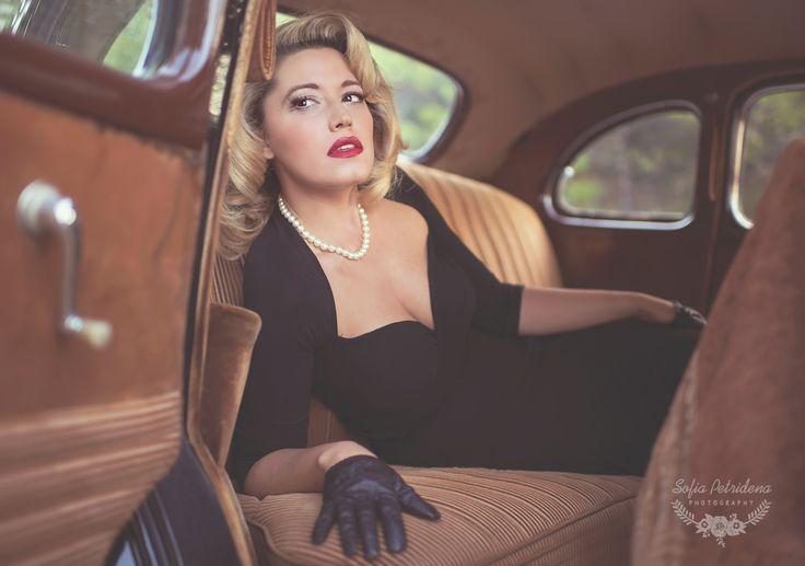 40s glam inspiration / Creative Concept, vintage, Marilyn Monroe photoshoot