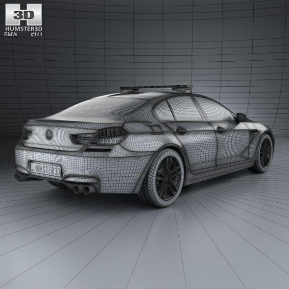 BMW 6 Series M6 (F13) GranCoupe Police Dubai 2014 #BMW