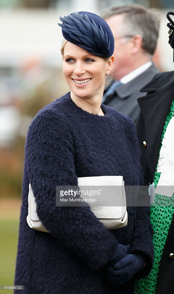 (EMBARGOED FOR PUBLICATION IN UK NEWSPAPERS UNTIL 48 HOURS AFTER CREATE DATE AND TIME) Zara Phillips attends day 2, Ladies Day, of the Cheltenham Festival on March 16, 2016 in Cheltenham, England. (Photo by Max Mumby/Indigo/Getty Images)
