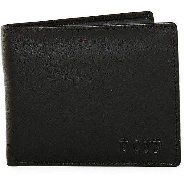 Dopp Men's Tribeca Leather Bi-Fold Wallet (€32) ❤ liked on Polyvore featuring men's fashion, men's bags, men's wallets, green, mens bifold wallet, bi fold mens wallet, mens credit card holder wallet, mens bifold leather wallet and mens leather wallets
