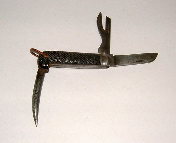 1940s Wwii Military Knife Army Jack Knife Vintage By