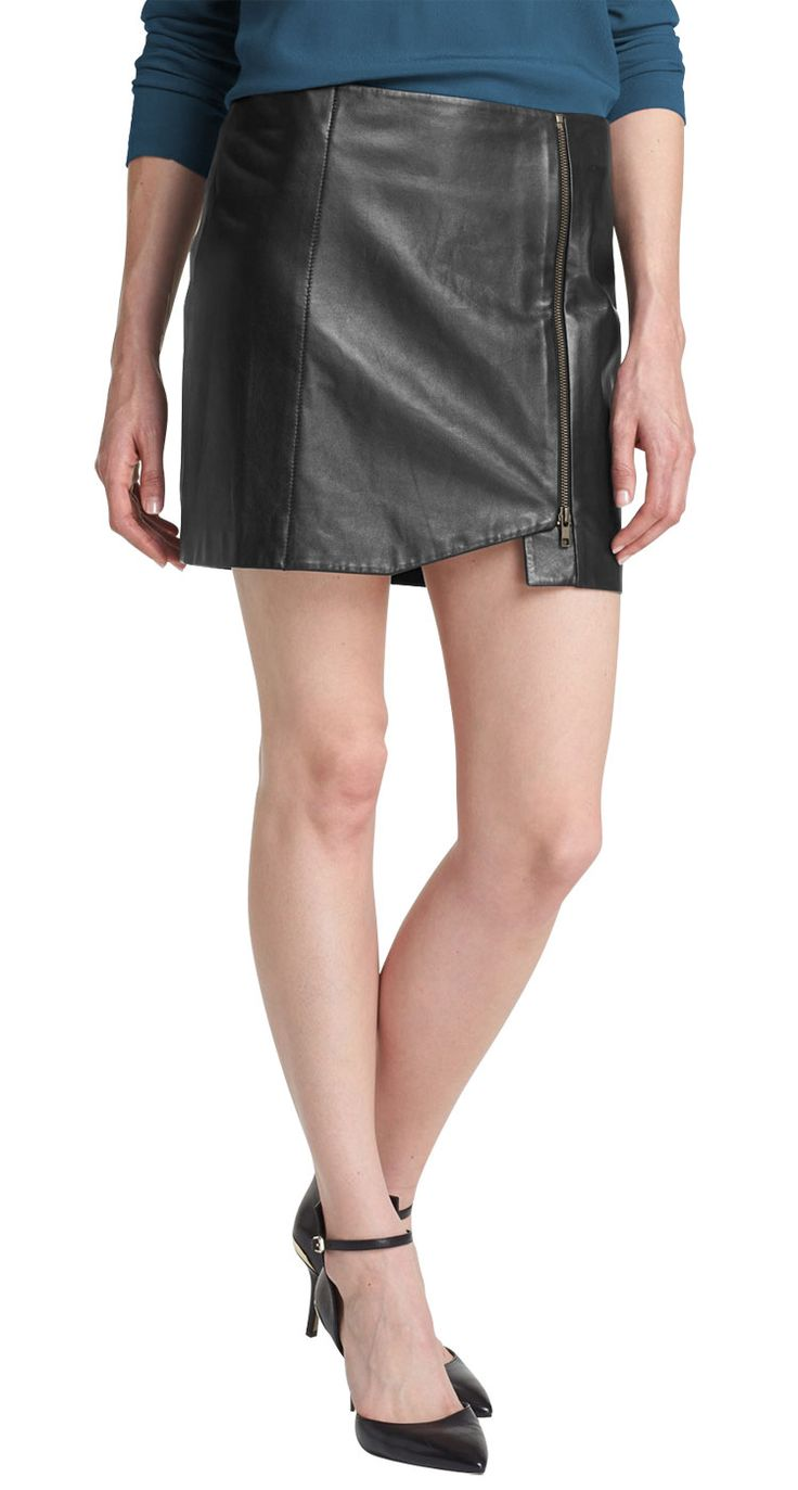 26 best Look trendy! Look hot with Leather skirts images ...