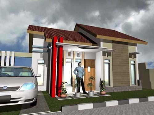 Kreasi Desain Rumah Sederhana 3 Kamar Tipe 60