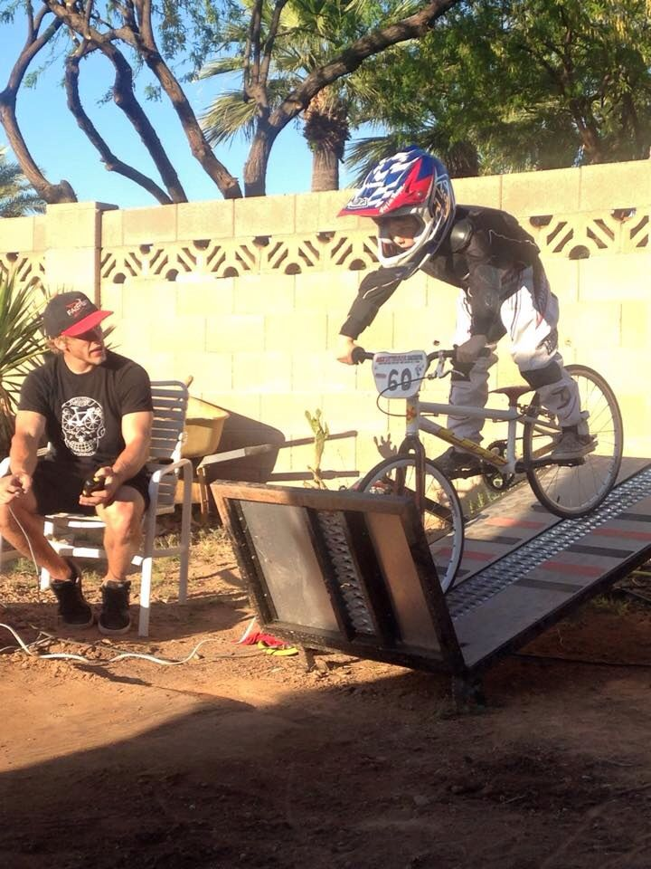 Gate clinic #bmx #gate start # backyard  https://www.etsy.com/shop/DiaDeLosBicycles