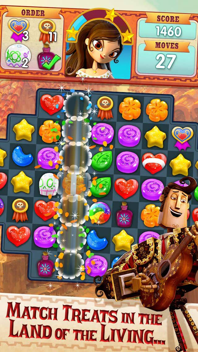 App Shopper: Sugar Smash: Book of Life - Sweetest Free Match 3 (Games)