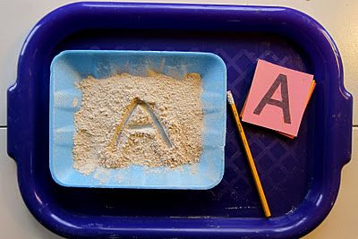 sand letters