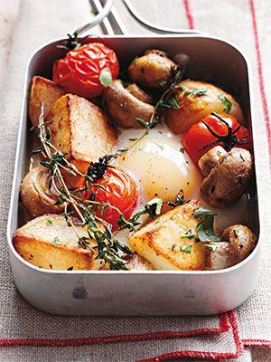 Рецепт «Сытный вегетарианский завтрак» из книги «100 вегетарианских блюд» Этот рецепт из раздела «Вегетарианские блюда». #recipe #veggie #cookbooks #cookbooksru