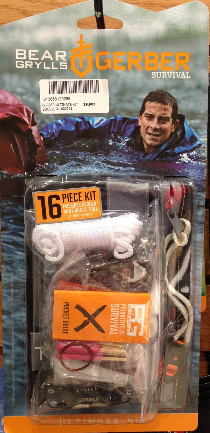 Kit de supervivencia Gerber, en tienda Tatoo en Mall Sport.