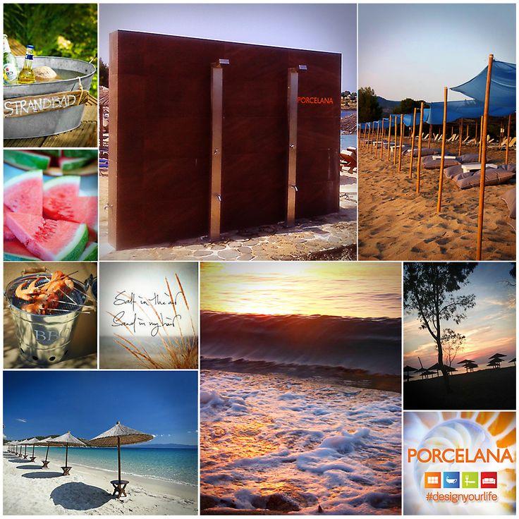 Η #Porcelana πάει παραλία και σας εύχεται Καλές Διακοπές! Απολαύστε υπέροχες στιγμές δροσιάς στα πιο #hot #beachbar - Kohi Beach Bar Umbrellas & Bolivar Beach Bar #designyourlife www.porcelana.gr