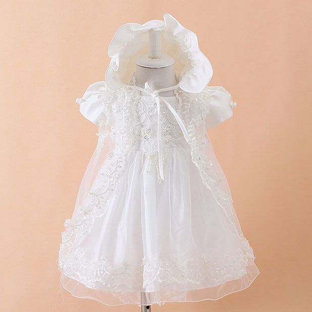 >> Click to Buy << 2017 Summer New Baby Dress Birthday Princess Cotton Baby Vest Baptism Clothes Baby Clothes for 1 Years Old SKF154703 #Affiliate
