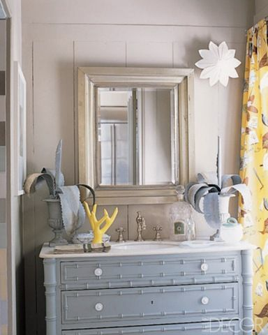 17 best images about gray yellow bathroom ideas on - Best place to buy bathroom vanities online ...