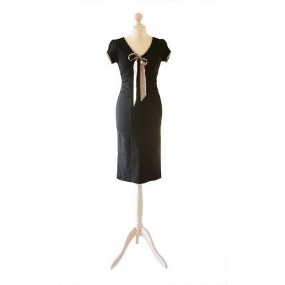 Sukienka retro Veronica - czarna