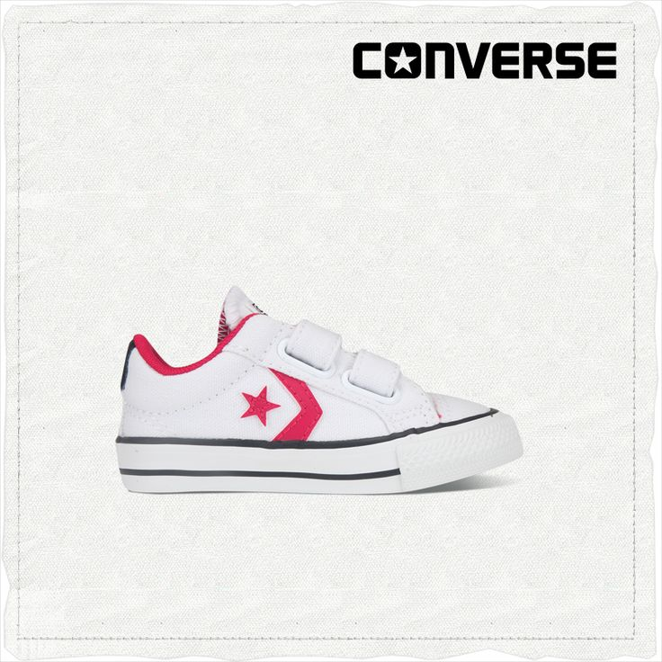 #converse  Star Player EV CONVERSE official color satellite and the rocket hit double Velcro shoes 747759C