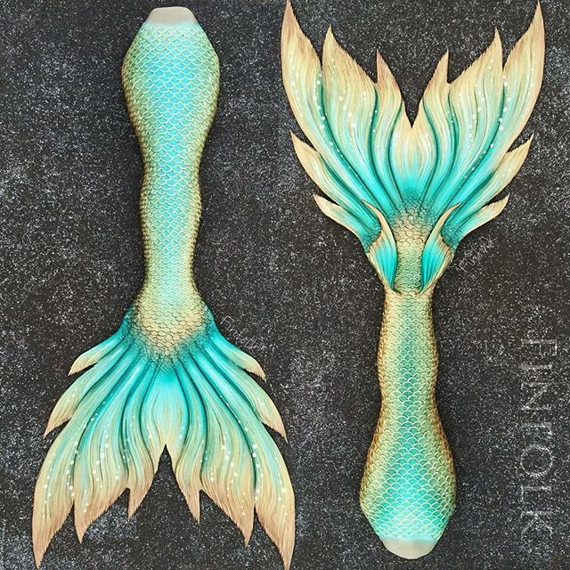 The fluke!!!!>>> I wish I had a full silicone tail! I already have a Fin Fun tail, which is pretty much the nicest you can get without going full silicone.