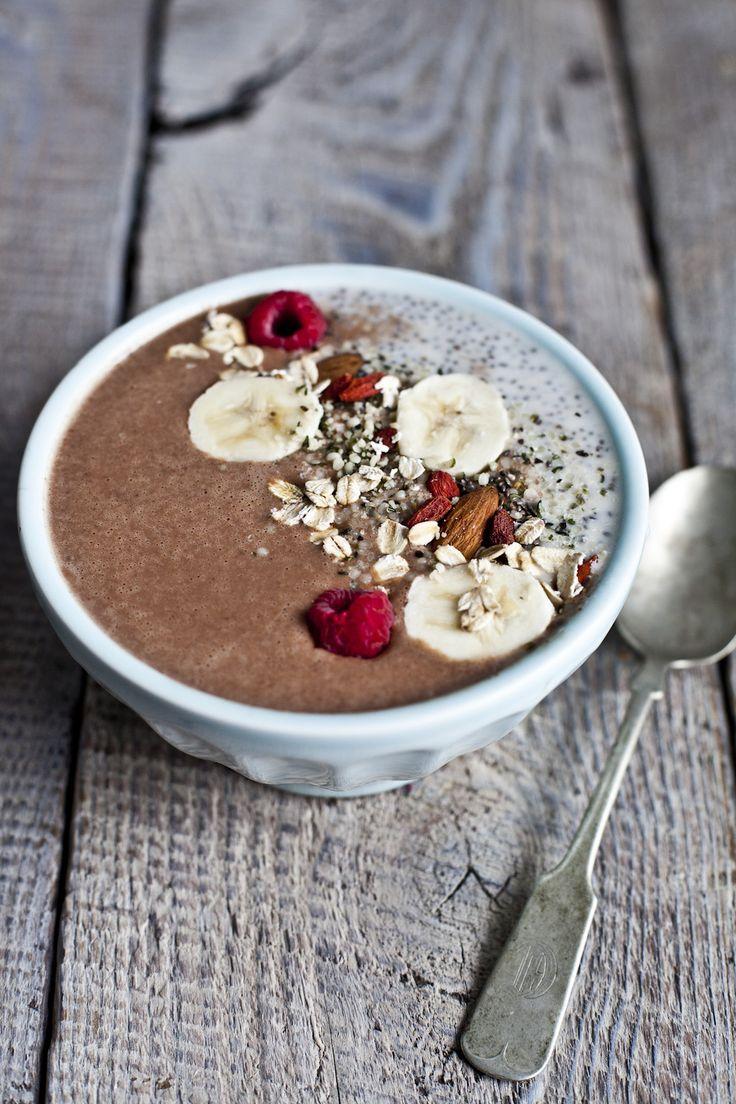 Bol déjeuner gourmand, chocolaté et nutritif | Marginale et heureuse