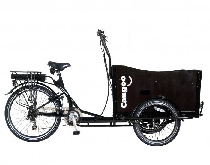 Electrische Bakfiets Cangoo - Cangoo E220 - Prijs: € 1.499,00 - MargeWebshop