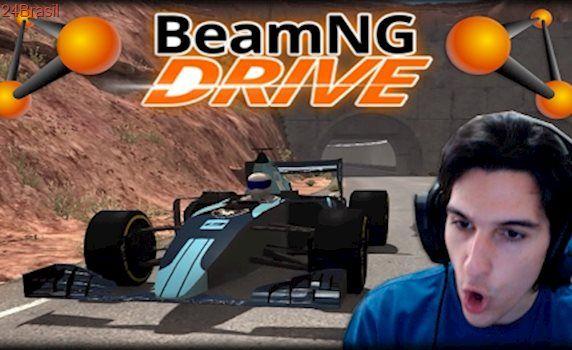 Jogando BeamNG Drive - Os Carros Mais Rápidos do Jogo!!!
