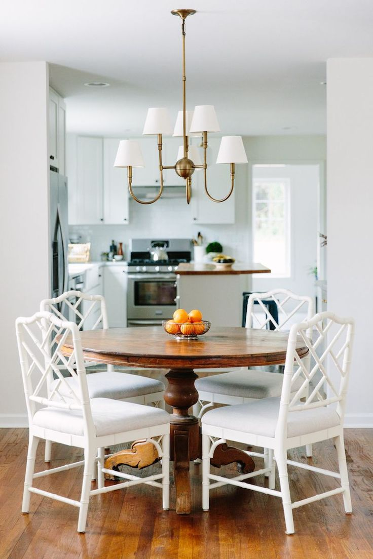 Dining room to kitchen view via i suwannee: the real raleigh :: elizabeth boyette